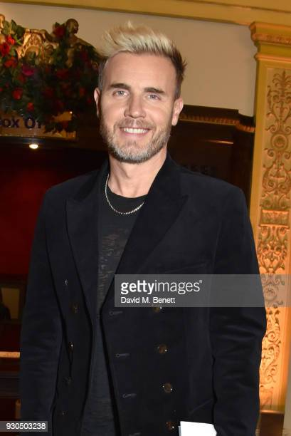 Gary Barlow attends the press matinee after party for Brief Encounter at The Haymarket Hotel on March 11 2018 in London England