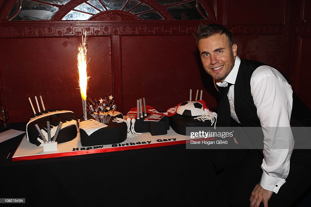 Gary Barlow Celebrates 40th Birthday