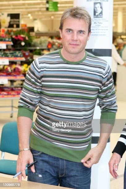 Gary Barlow during Gary Barlow Signs His Book 'My Take' at ASDA in Pudsey October 10 2006 at ASDA in Pudsey Great Britain