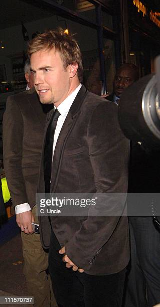 Gary Barlow during 'Take That Never Forget The Ultimate Collection' Preview Screening After Party at Kensington Palace 201 Kensington Church St in...