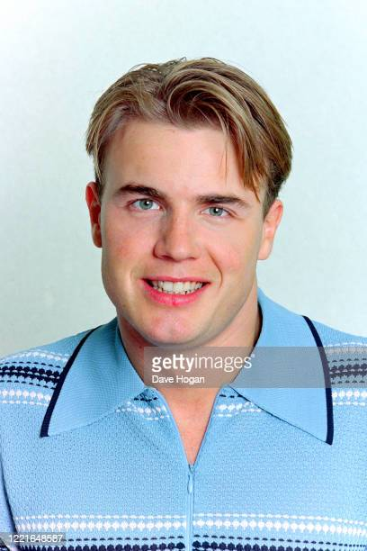 Gary Barlow of Take That poses for a portrait in London 1994