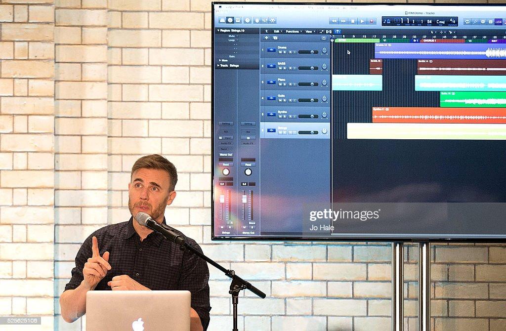 Inside The Music With Gary Barlow : News Photo