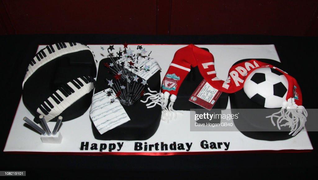 Gary Barlow Celebrates 40th Birthday - GB40 : News Photo
