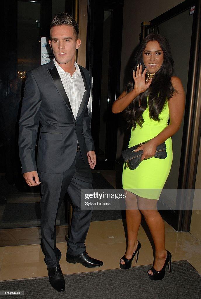 Charlotte Letitia Crosby og Gary Beadle dating 2013