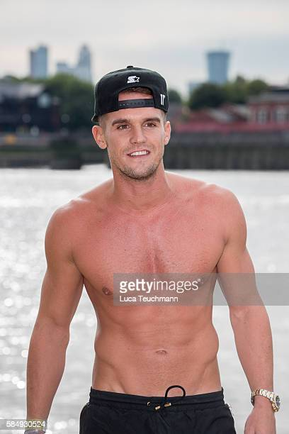 Gary Beadle attends the cast of 'Ex on The Beach' promote the series starting 16th August on August 1 2016 in London England