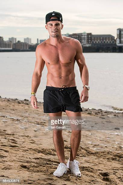 Gary Beadle of 'Ex on The Beach' promote the series starting 16th August on August 1 2016 in London England