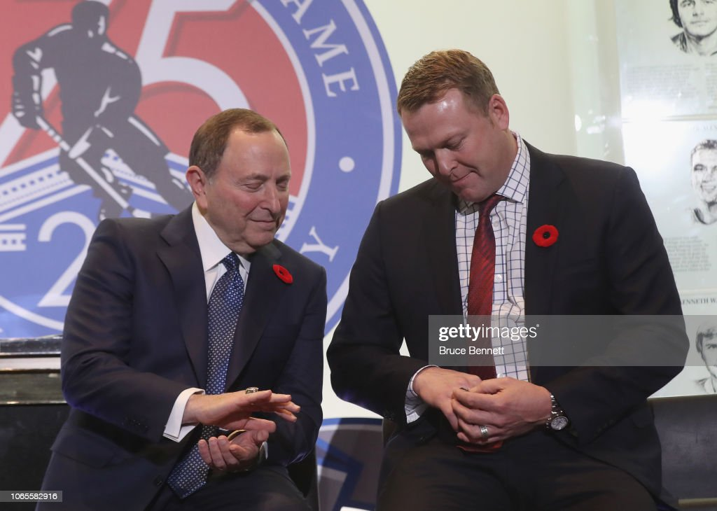 2018 Hockey Hall Of Fame Induction - Press Conference : News Photo