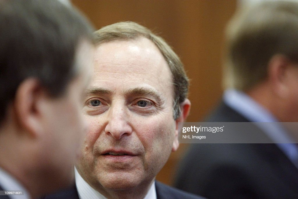 Gary Bettman attends the Congressional Hockey Caucus Briefing at the Rayburn House Office Building on March 10, 2011 in Washington, DC.