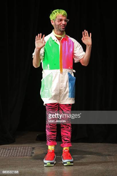 Gary Bigeni during the Gary Bigeni show at MercedesBenz Fashion Week Resort 18 Collections at Elston Room on May 16 2017 in Sydney Australia