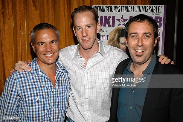 Gary Billy Zavelson and Svend Mejdal attend Kiki Herb Alive on Broadway After Party Arrivals at O2 Lounge on August 15 2006 in New York City