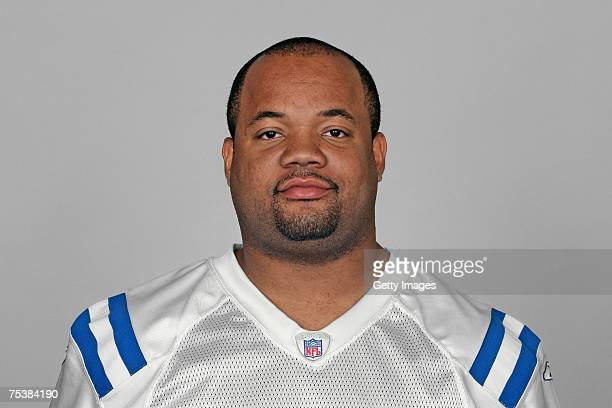 Gary Brackett of the Indianapolis Colts poses for his 2007 NFL headshot at photo day in Indianapolis Indiana