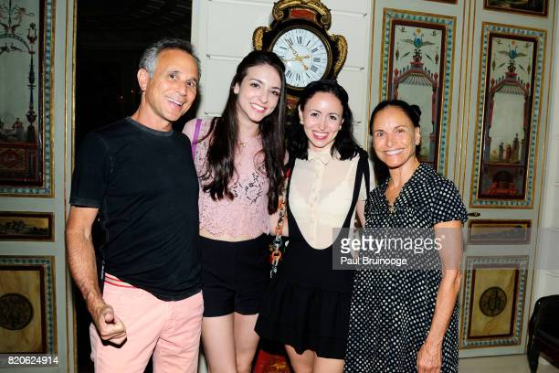 Gary Brandt April Giangeruso Skylar Brandt and Barbara Brandt attend Youth America Grand Prix Jewels 50th Anniversary Celebration at Home of Susan...