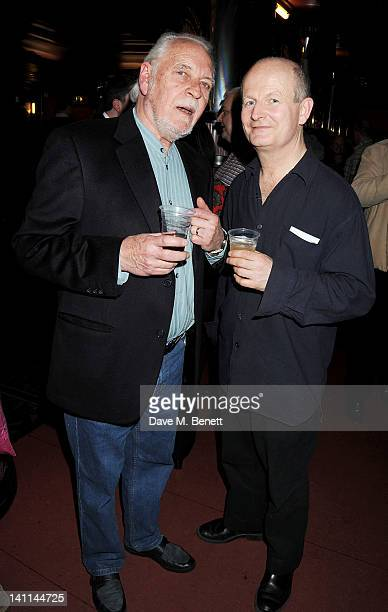 Gary Brooker and Philip Pope attend Douglas Adams The Party celebrating what would have been the author's 60th birthday at the HMV Hammersmith Apollo...