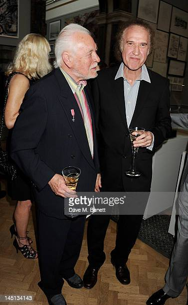 Gary Brooker and Ray Davies attend 'A Celebration Of The Arts' at Royal Academy of Arts on May 23 2012 in London England