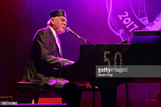 Gary Brooker of Procol Harum performs at O2 Shepherd's Bush Empire on May 13 2017 in London England