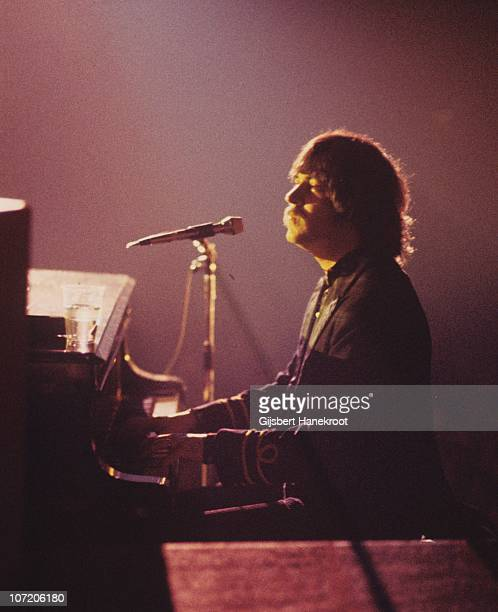 Gary Brooker of Procol Harum performs on stage in 1976 in Amsterdam Netherlands