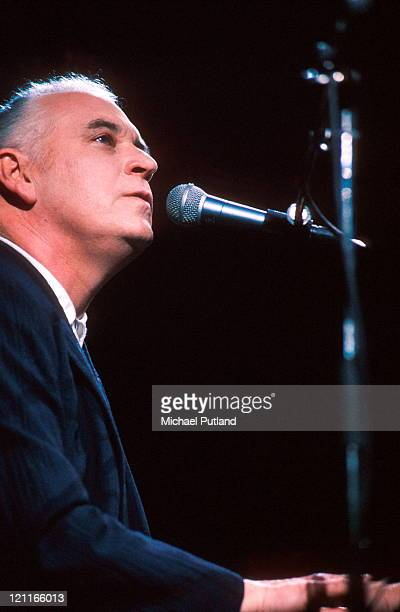 Gary Brooker of Procol Harum performs on stage London 1999