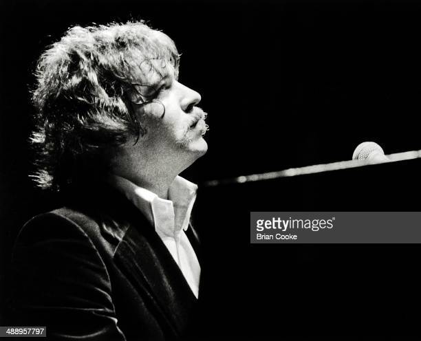 Gary Brooker of Procol Harum playing live at London's Olympia on 1st January 1976