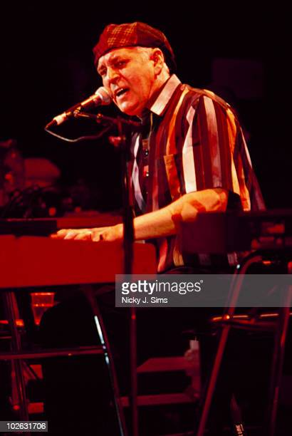 Gary Brooker performs on stage at the Shepherd's Bush Empire in London England in 1996