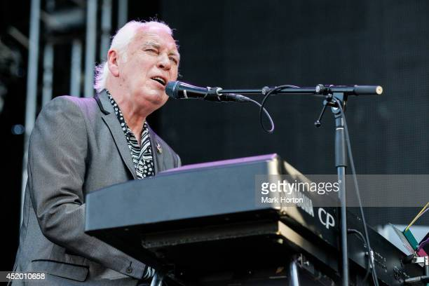 Gary Brooker performs with Procul Harem on Day 7 of the RBC Royal Bank Bluesfest on July 10 2014 in Ottawa Canada