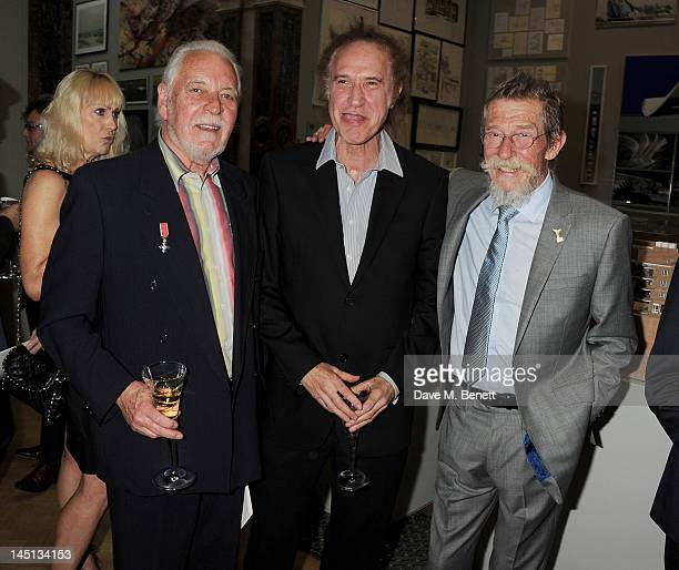 Gary Brooker Ray Davies and John Hurt attend 'A Celebration Of The Arts' at Royal Academy of Arts on May 23 2012 in London England