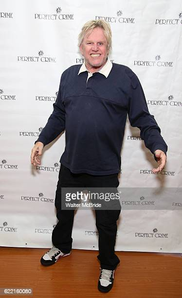 Gary Busey attends a lunch event as he joins the cast of Perfect at The Theater Center on November 10 2016 in New York City