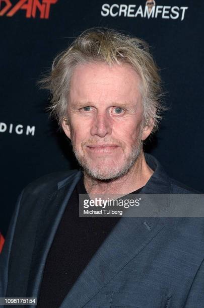 Gary Busey attends the Los Angeles premiere screening of Dead Ant at TCL Chinese 6 Theatres on January 22 2019 in Hollywood California