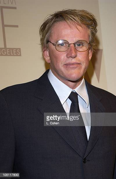 Gary Busey during 2003 Women In Film Crystal + Lucy Awards - Show at Century Plaza Hotel in Los Angeles, California, United States.