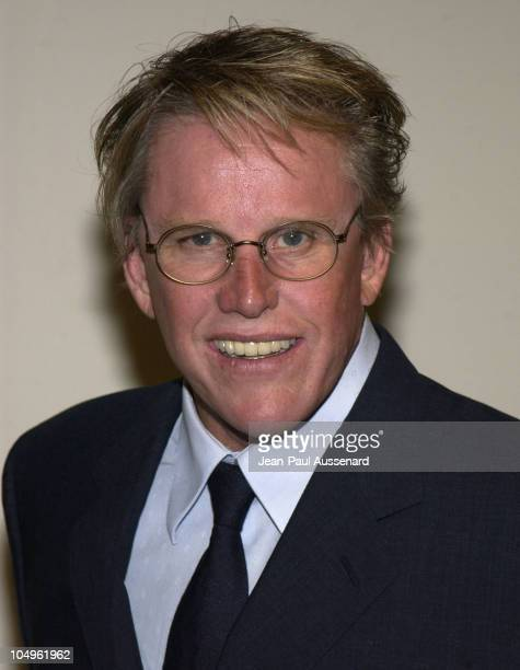 Gary Busey during 2003 Women In Film Crystal + Lucy Awards Sponsored by Marie Claire - Arrivals at Century Plaza Hotel in Century City, California,...