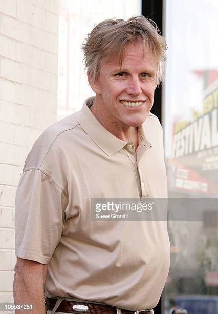 Gary Busey during Chris Farley Honored Posthumously With a Star on the Hollywood Walk of Fame in Hollywood California United States