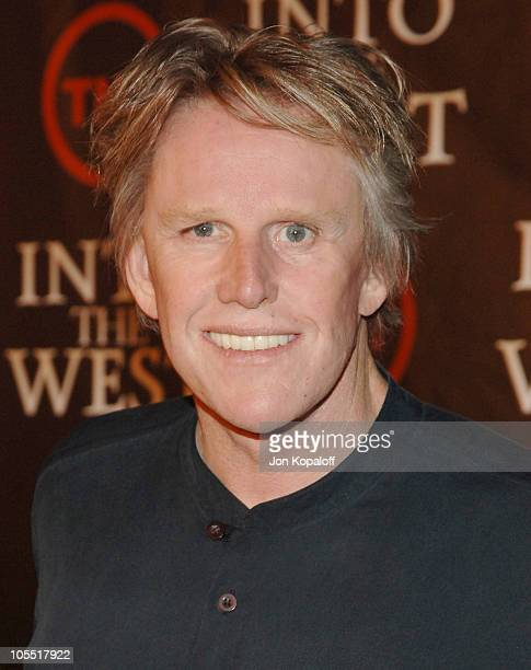 Gary Busey during Into the West TNT Network Los Angeles Premiere Arrivals at Directors Guild of America in Hollywood California United States