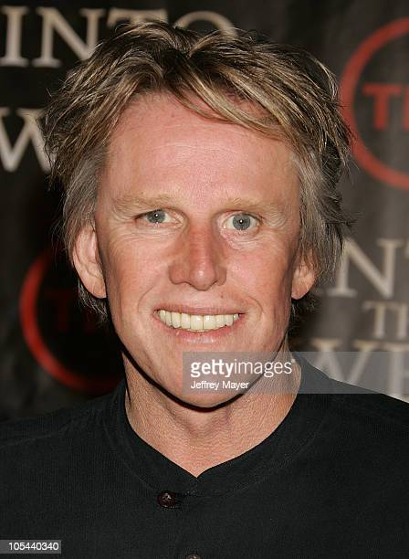 Gary Busey during Into The West West Coast Premiere Arrivals at Directors Guild Theater in Los Angeles California United States