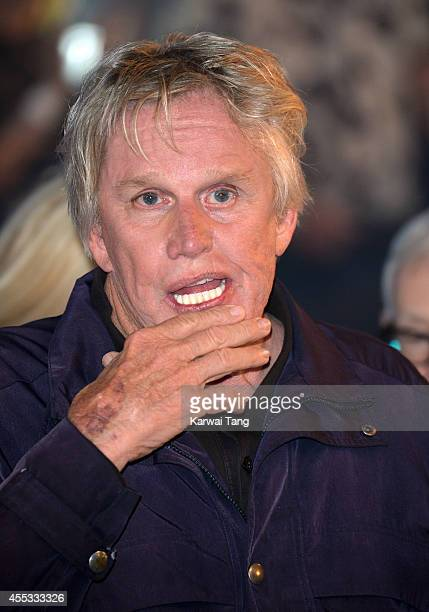 Gary Busey is the winner of Celebrity Big Brother 2014 at Elstree Studios on September 12 2014 in Borehamwood England