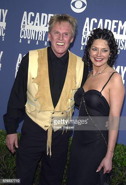 Gary Busey with his wife Tiani Warden