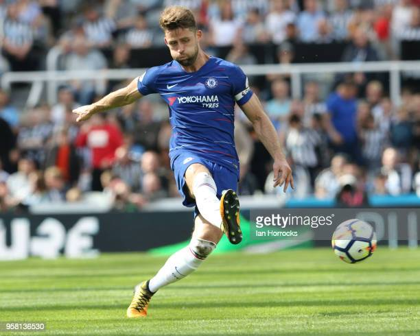 Gary Cahill of Chelsea during the Premier League match between Newcastle United and Chelsea at St James Park on May 13 2018 in Newcastle upon Tyne...