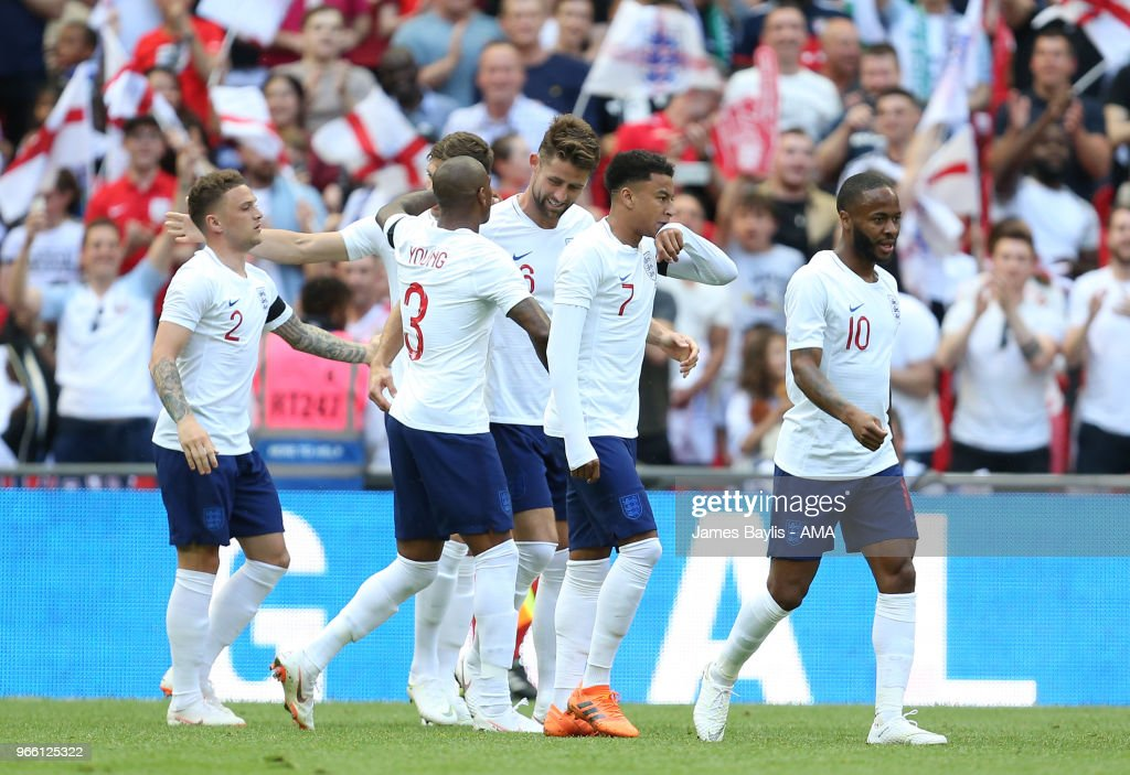 England v Nigeria - International Friendly : News Photo