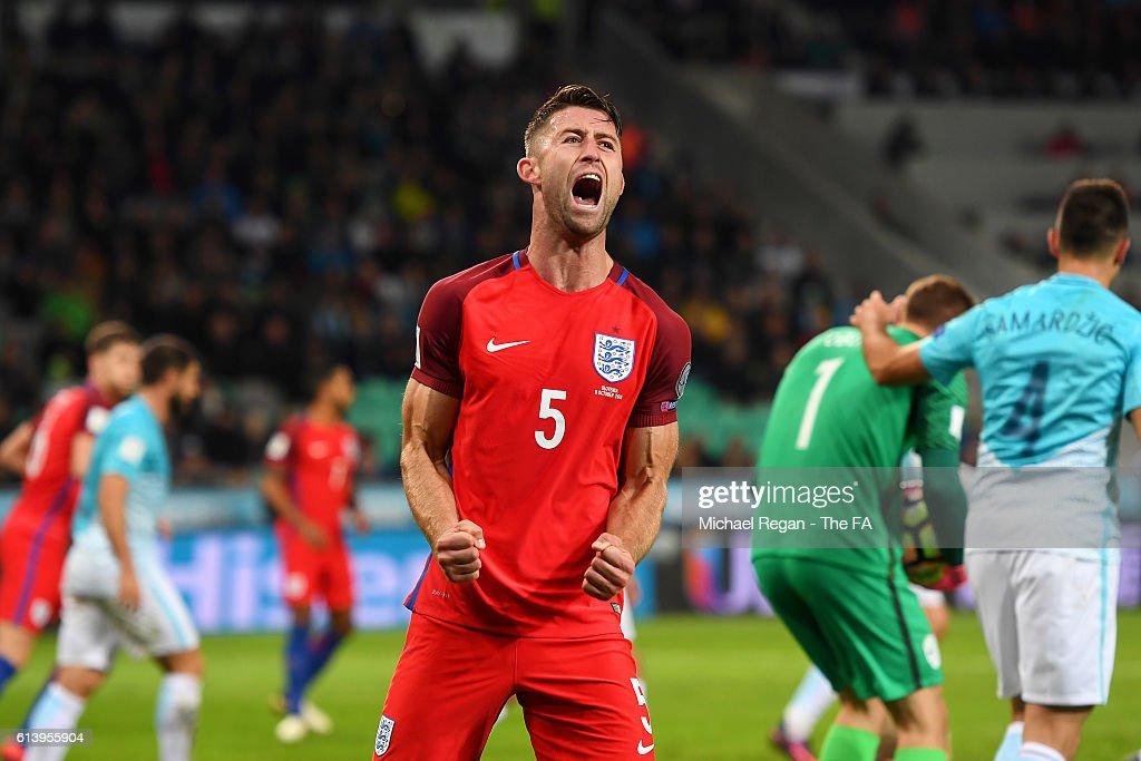 Slovenia v England - FIFA 2018 World Cup Qualifier : News Photo