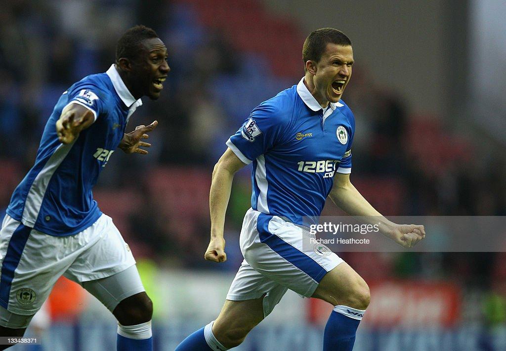 Wigan Athletic v Blackburn Rovers - Premier League