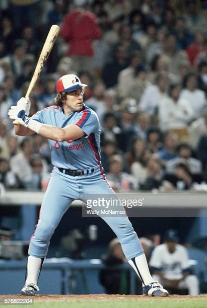 Gary Carter at Bat for the Montreal Expos