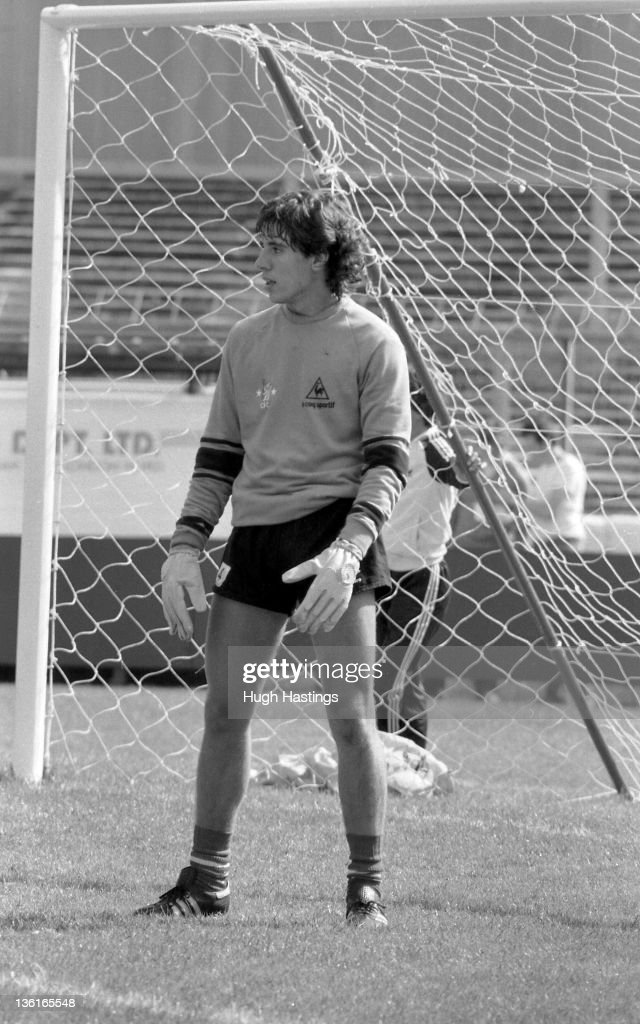 Gary Chivers of Chelsea during training at Stamford Bridge during ...