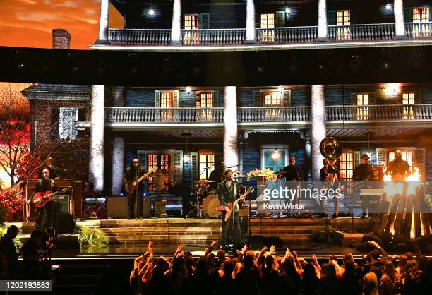 Gary Clark Jr and The Roots perform onstage during the 62nd Annual GRAMMY Awards at STAPLES Center on January 26 2020 in Los Angeles California