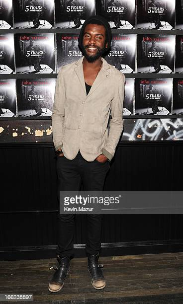 Gary Clark Jr attends John Varvatos Bowery NYC 5th Anniversary on April 10 2013 in New York City