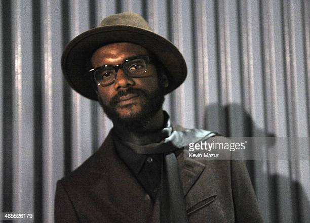 Gary Clark Jr attends 'The Night That Changed America A GRAMMY Salute To The Beatles' at Los Angeles Convention Center on January 27 2014 in Los...