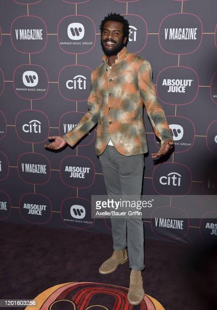 Gary Clark Jr. Attends Warner Music Group Pre-Grammy Party 2020 at Hollywood Athletic Club on January 23, 2020 in Hollywood, California.