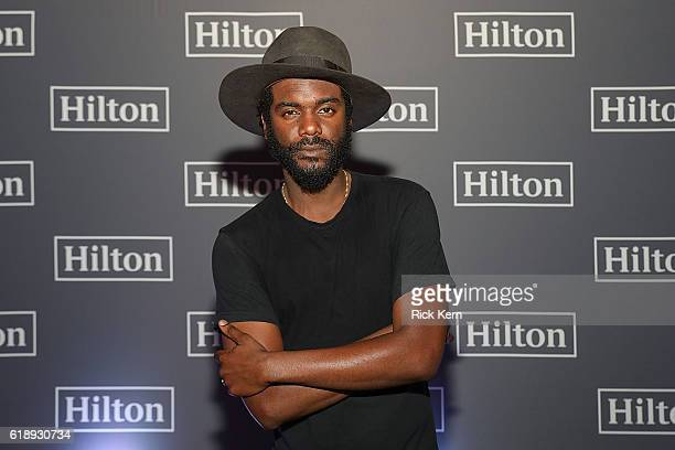 Gary Clark Jr closes out a successful 2016 Hilton Concert Series with a private show for Hilton HHonors members and fans on October 28 2016 in Austin...