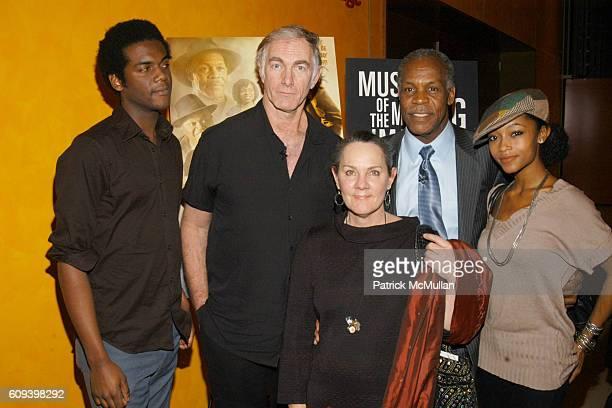 Gary Clark Jr., John Sayles, Maggie Renzi, Danny Glover and Yaya DaCosta attend MUSEUM OF MOVING IMAGES SALTUES DANNY GLOVER, JOHN SAYLES and...
