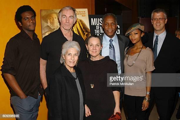 Gary Clark Jr., John Sayles, Maggie Renzi, Danny Glover, Yaya DaCosta and David Schwartz attend MUSEUM OF MOVING IMAGES SALTUES DANNY GLOVER, JOHN...