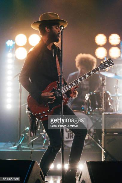 Gary Clark Jr performs during 'The Late Late Show with James Corden' Thursday November 2 2017 On The CBS Television Network