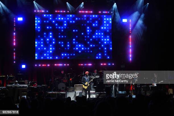 Gary Clark Jr performs onstage at the Second Annual LOVE ROCKS NYC A Benefit Concert for God's Love We Deliver at Beacon Theatre on March 15 2018 in...
