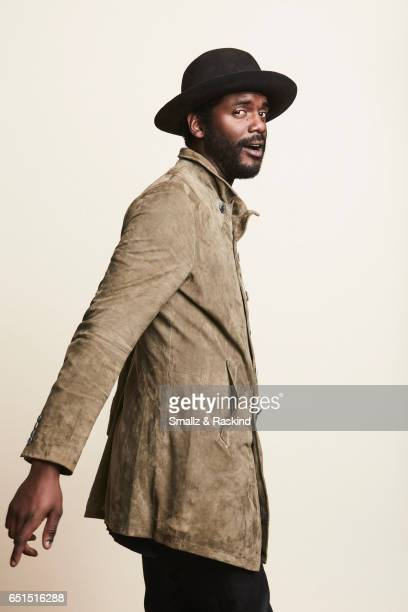 Gary Clark Jr poses for portrait session at the 2017 Film Independent Spirit Awards on February 25 2017 in Santa Monica California